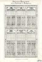 K000344 Afbeelding van oude bestaande gebouwen.Detail van een woonhuisgevel (= Gotische Huis) aan deOudestraat te ...