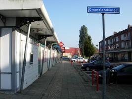 F013077 Winkelcentrum Hanzewijk aan de Dr. Damstraat in 2008, voor de sloop van de wijk.
