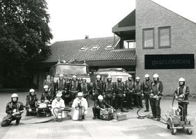 F010703 De vrijwillige Brandweer van IJsselmuiden.