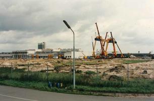 F013299 Nieuwbouw van MBI Beton aan de Haatlanderhaven op het industriegebied De Greente , het bedrijf levert ...