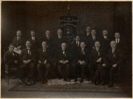 F013183 De vereeniging der Chr. Nat. Werkmansbond afd. Kampen, opgericht 2 augustus 1897. Het doel der vereniging is ...