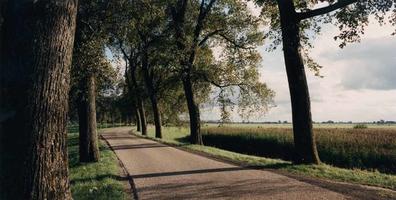 F013203 De Zwartendijk, met de polder Broeken en Maten.