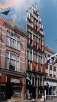 F013231 Het Gotisch Huis is een koopmans- of patriciërswoning aan de Oudestraat en is omstreeks 1500 gebouwd, het ...