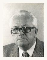 F004494 Ds. J.W. Delwig, vanaf 1982 predikant bij de Vrij-Evangelische gemeente te Kampen.