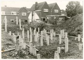 F000144 Nieuwbouw van woonhuizen aan de Beltweg in Brunnepe.