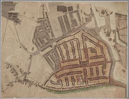 K001127 Ontwerp van een plan voor de bebouwing van het terrein N.N.O. tussen de Noordweg, Louise de Colignysingel en ...