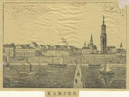 F000081 De IJsselkade en de IJsselbrug rond 1891.