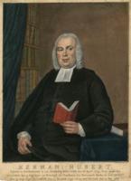 K001785 Herman Hubert, geboren te Noorhoorn in het Graafschap Benthem den 18 april 1729. Prop.geworden te Leiden den 5 ...