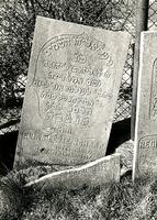 F003948 Grafsteen van Elias Levie Schaap, geboren 13 januari 1817/13 Tebeth (5)577) - Alzo voer Elia ten hemel - 2 Kon. ...