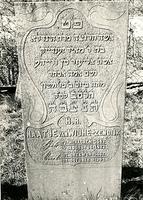 F003956 Grafsteen van Naatje van Wijhe-Zendijk, geboren 4 augustus 1823/27 Menachem (5)583). - H(ier is) b(egraven) de ...