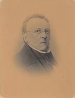 F000103 Portret van Philip Christiaan Molhuysen (1793-1865). Op 10 Jan. 1860 benoemde de raad van Kampen hem tot ...