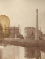 F000297 Gasfabriek aan het Bolwerk, verbouwd 1907.Ontworpen door A.F. Reijers, hoofdopzichter Gemeentewerken, op de ...