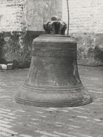 F000467 Klok uit de Broederkerk met opschrift: fecit Ciprianus (gemaakt door Ciprianus).