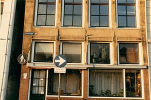 F000426 Voorgevel (pui) van het woonhuis aan de Vloeddijk nr. 76.