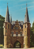 F000679 De stadszijde van de Broederpoort.