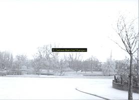 F005738 Winter in het Plantsoen.