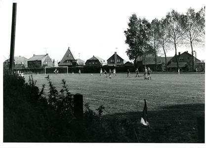 Oude sportveld van voetbalvereniging 'Aurora'. Thans plan Pelikaan