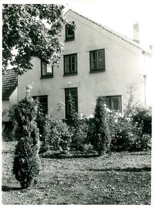 Achterzijde woonhuis voorheen schilder Bart de Gier
