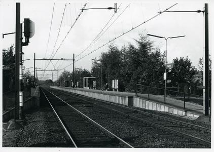 Station Bunnik aan de Groeneweg gezien vanaf zijde A12