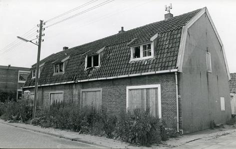 Dichtgetimmerde woningen, gesloopt in 1984