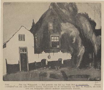 Uit Utrecht in Woord en Beeld: afbeelding van een schilderij van waarschijnlijk Blokhove
