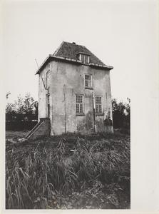 Kasteel Vuylcop. Gezicht op de toren vanaf het Neereind.