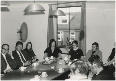 Collega's. 1. K. Willems; 2. H. van der Zee; 3. M. Bax; 4. A. Stoffels; 5. J. van Hoof; 6. M. Kunnen; 7. J. van Hoof; 8. A. van Lieshout