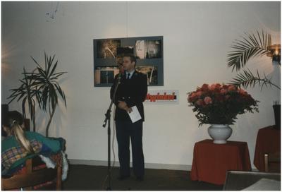 Toespraak postcommandant P. Thurlings