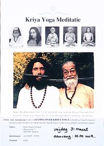 Lezing Kriya Yoga Meditatie in het Kriya Yoga Centrum