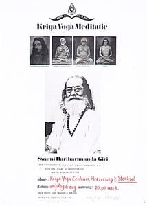 Lezing over Kriya Yoga in het Kriya Yoga Centrum