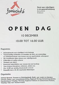 Open dag Bomanshof, pand voor vrijwilligers in de gezondheidszorg