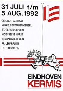 Kermis 1992 op diverse locaties in Eindhoven