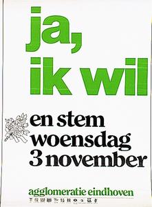 Affiche verkiezingen Agglomeratie Eindhoven