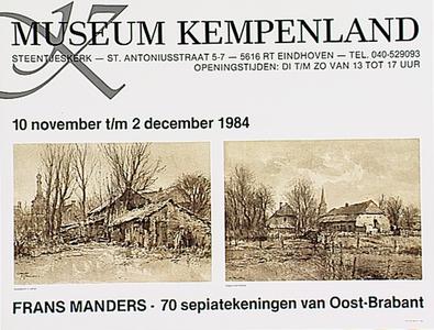 Tentoonstelling Frans Manders in museum Kempenland