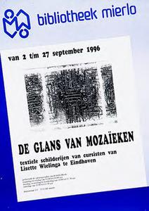 Expositie textiele schilderijen van Eindhovense kunstenares Trefwoorden: textiel, textielkunst