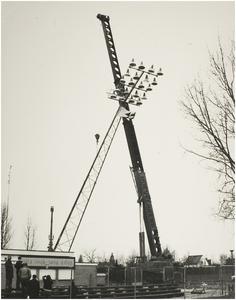 Wethouder Ebbenlaan. Plaatsen van een lichtmast bij de velden van Helmond Sport op sportpark De Braak