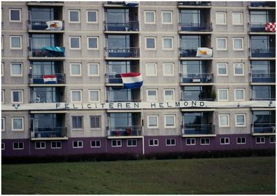 Een serie van 14 foto's betreffende de opening omlegging Zuid-Willemsvaart