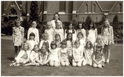 3e klas van de St. Annaschool