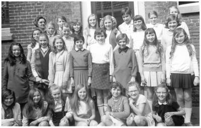 6e klas van de St. Annaschool