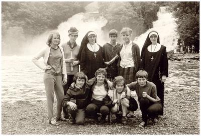 Schoolreis V.G.L.O. school: achtergrond Watervallen van Coo (B)
