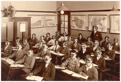 29. onderwijzer C. Deben;
