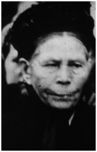Houtzagerij : Moeder Meusen-Koopmans * 28-02-1856 Baexem +21-02-1947 Baexem gehuwd met Lambertus Meusen 1. Meusen-Koopmans;