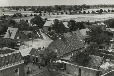 Serie van 3 panorama foto's van het centrum van Lierop, gezien vanuit de Koepelkerk
