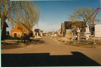 Serie van 3 foto's van nieuwbouw aan de Walstraat