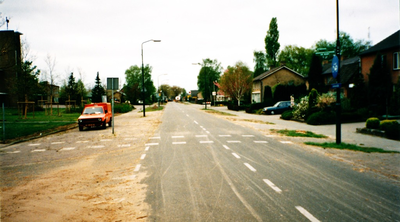 Serie van 6 foto's van de Kerkendijk in Someren-Heide